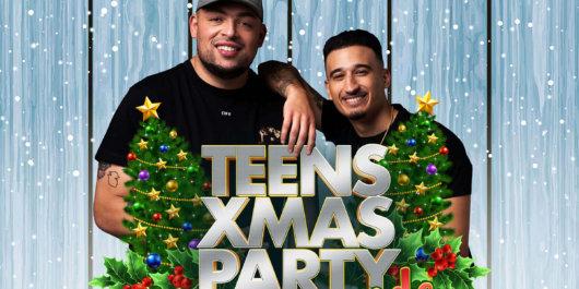 Kerstparty voor tieners in de Staver