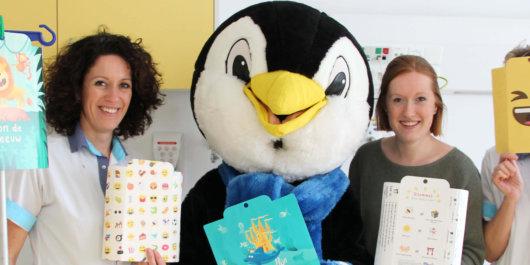 Zwembad Zuiderdiep schenkt fuusjes aan Kinderafdeling Van Weel-Bethesda ziekenhuis
