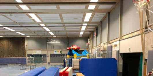 Sportinventaris SRGO in onderhoud